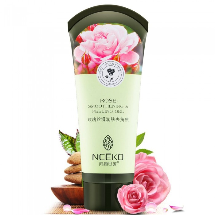 Nceko пилинг-скатка роза