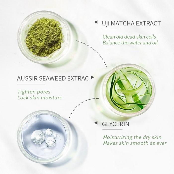 Laikou пилинг-скатка для лица с зеленым чаем
