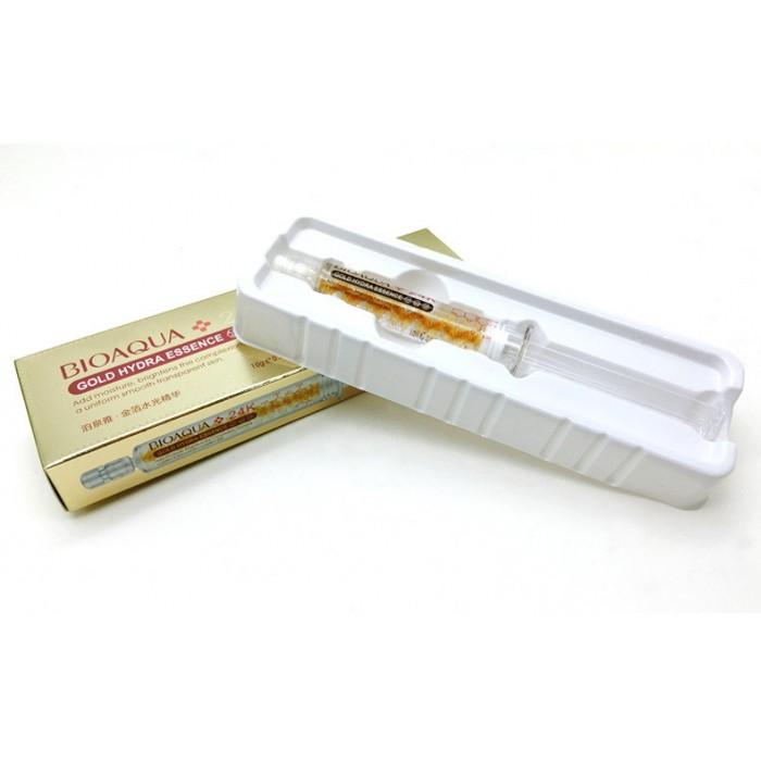 Bioaqua сыворотка с частичками золота 24K Gold