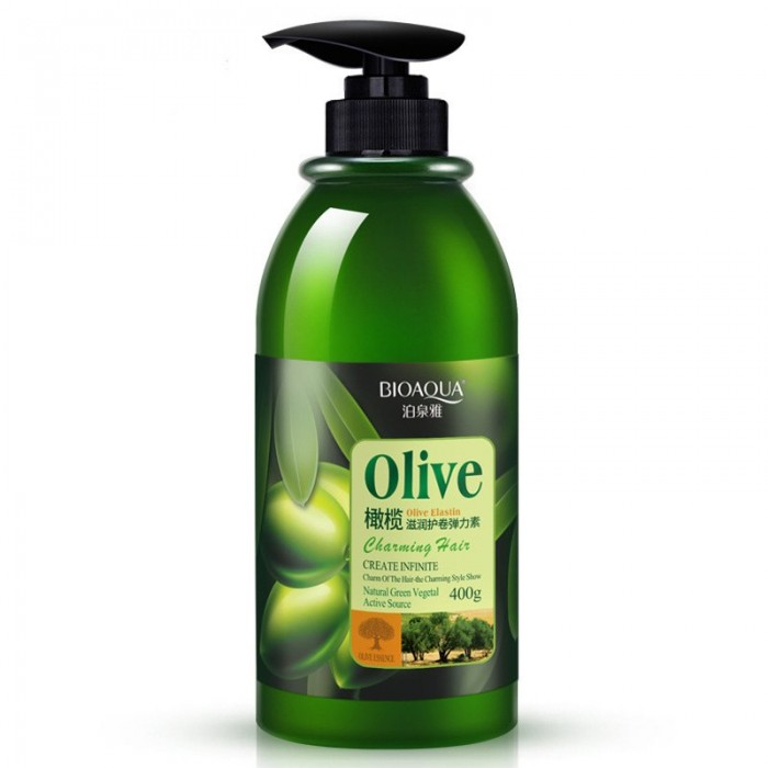 Bioaqua эластин для укладки с оливками