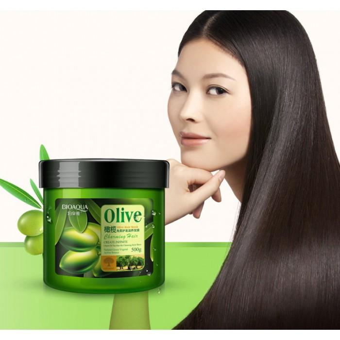 Bioaqua маска для волос с оливками
