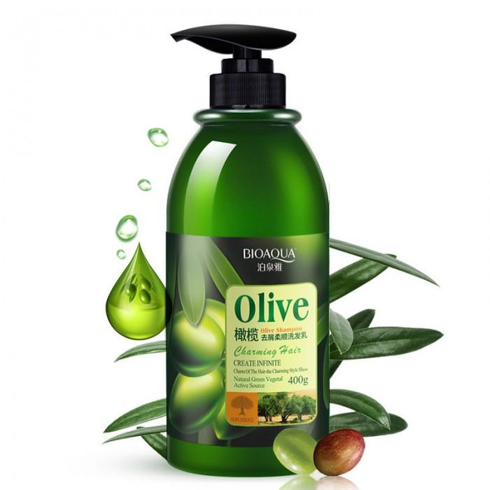 Bioaqua шампунь с оливками